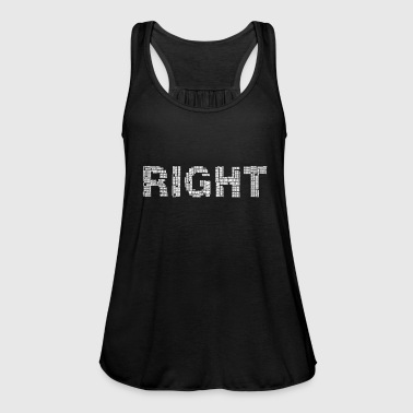 Right right - Women's Tank Top by Bella