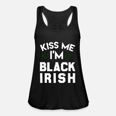 Kiss Me Im Irish Kiss Me IM Black Irish - Women's Tank Top by Bella