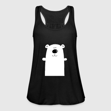 Cuddly polar bear - polar bear - bear - children - Women's Tank Top by Bella