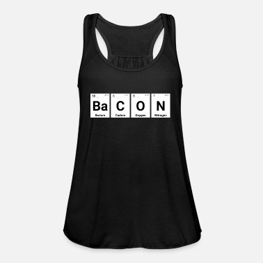 Periodic Table Bacon periodic table elements - Women's Tank Top by Bella