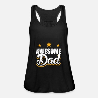 Papfar Awesome Dad Faders dag far far gave - Dame tanktop fra Bella