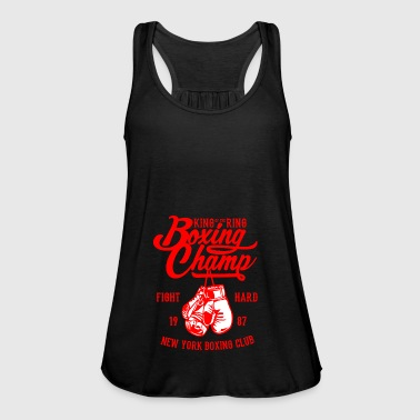 Champ Boxing Champ - Vrouwen tank top van Bella