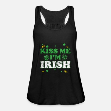 Kiss Me Im Irish Kiss me im irish vintage Geschenk St Patrick's Day - Women's Tank Top by Bella