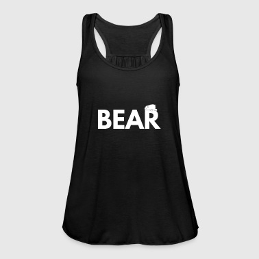 Bear polar bear polar bear kid gift - Women's Tank Top by Bella