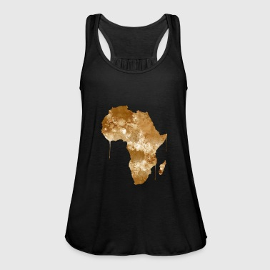 Africa Africa watercolor - Women's Tank Top by Bella