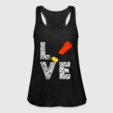 Amature Athlete Indiaca Love Sport Throw athlete gifts - Women's Tank Top by Bella