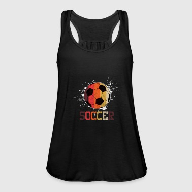 Soccer Ball Soccer Ball - Women's Tank Top by Bella