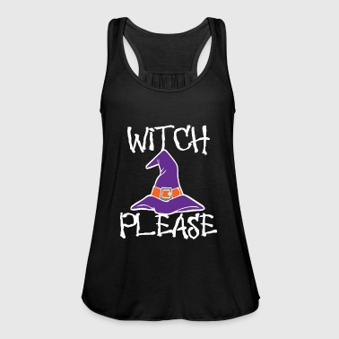 Witch Witch Hat Witch Please - Women's Tank Top by Bella