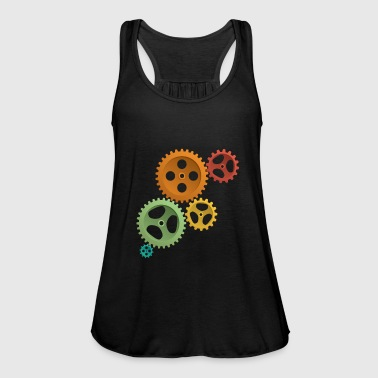 Gear Gears - Women's Tank Top by Bella