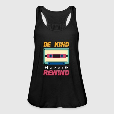 Be kind rewind - retro eighties cassette - Débardeur Bella Femme