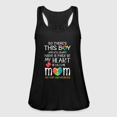 This boy piece of my heart - Autism Awareness  - Women's Tank Top by Bella