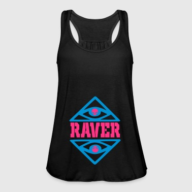 raver - Women's Tank Top by Bella