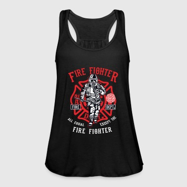 Fire Fighter Fire Fighter - Women's Tank Top by Bella