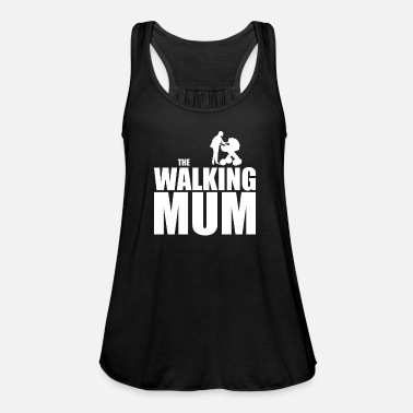 THE WALKING MUM | Baby stroller baby mom mother - Women's Tank Top by Bella