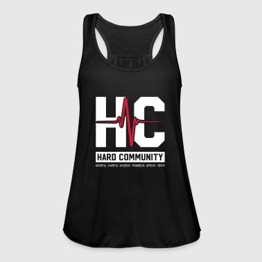Community HARD COMMUNITY - Tank top damski Bella