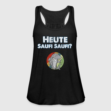 Hai with funny party saying, Today Saufi Saufi - Women's Tank Top by Bella
