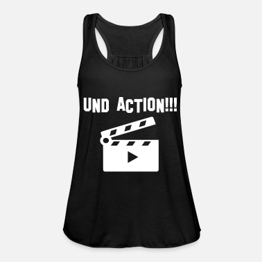 Action And action - Women's Flowy Tank Top