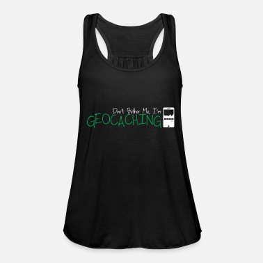 Geocache Geocacher geocaching - Women's Tank Top by Bella