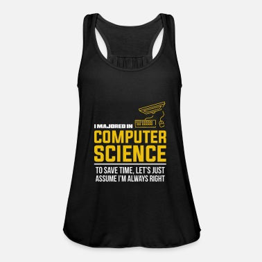 Computer Science Computer science study gift - Women's Flowy Tank Top