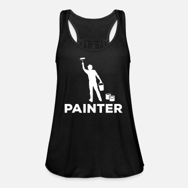 Painter Painter Painter - Women's Flowy Tank Top