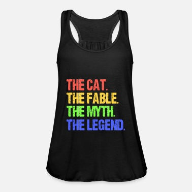 Fable The Cat - The Fable - Women's Flowy Tank Top