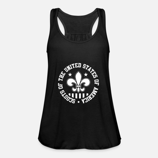 To Sing Tank Tops - Boy Scout America - Women's Flowy Tank Top black
