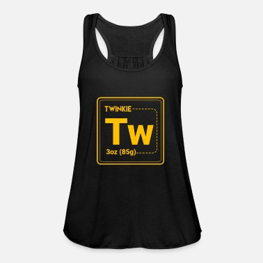 Periodic Table Funny Periodic Table - Women's Flowy Tank Top