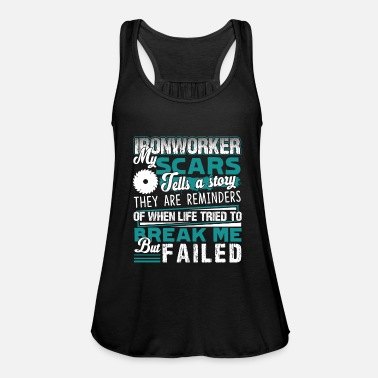 Ironworker Ironworker Proud To Be An Ironworker - Women's Flowy Tank Top