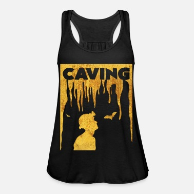 Cave caving - Women's Flowy Tank Top