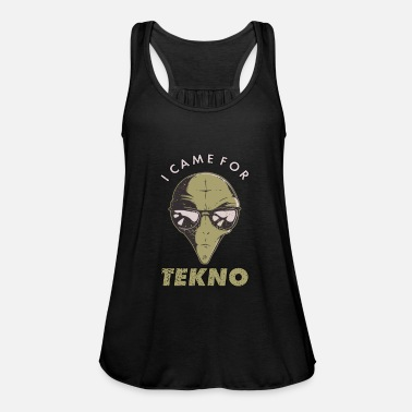 Ovni Techno Alien Sayings Teknival EDM Raving - Débardeur ample Femme