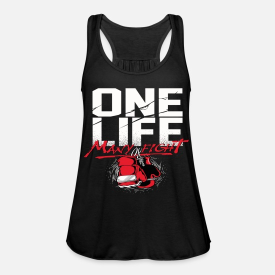 Birthday Tank Tops - A life - Women's Flowy Tank Top black