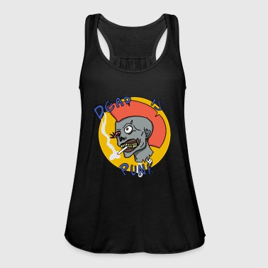 Dead to punk. - Tank top damski Bella
