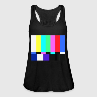 Test Card.Test Pattern. Retro Television Crew.SALE - Women's Tank Top by Bella