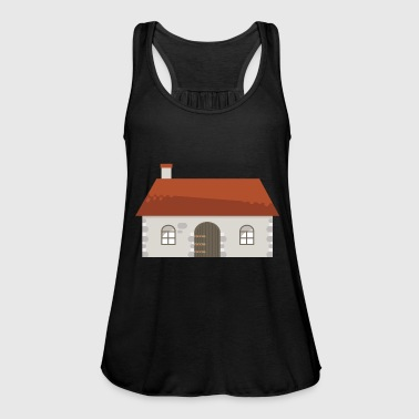 building house homes architecture house gebaeude197 - Women's Tank Top by Bella