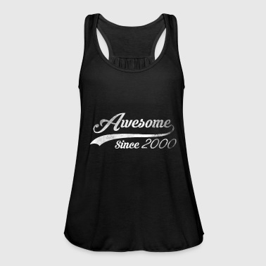18th Birthday Gift Awesome Vintage 2000 - Women's Tank Top by Bella