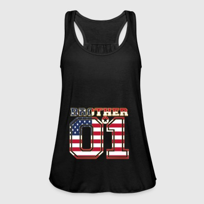 king broer broer 01 partner USA Amerika - Vrouwen tank top van Bella