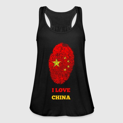 I LOVE CHINA - Women's Tank Top by Bella