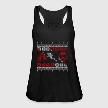 Diver ugly sweater xmas gift christmas - Women's Tank Top by Bella