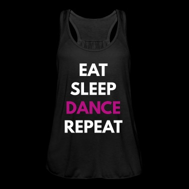 Eat Sleep DANCE REPEAT nero - Top da donna della marca Bella