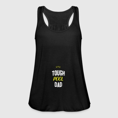 Distressed - TOUGH POOL DAD - Tank top damski Bella