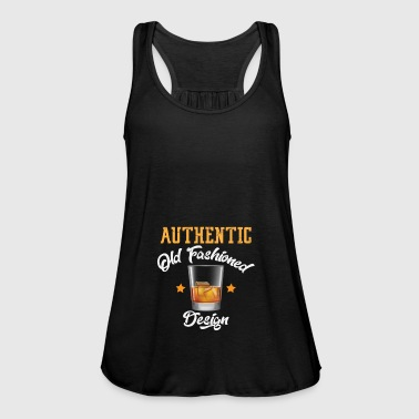 Authentic Old Fashioned Design | Whikey retro - Women's Tank Top by Bella