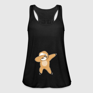 Dabbing sloth dancing funny gift - Women's Tank Top by Bella