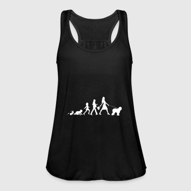 Old English Sheepdog Geschenke Grow Evolution Frau - Frauen Tank Top von Bella