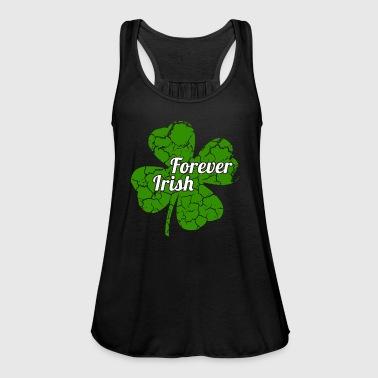 Forever Irish St. Patrick's Day Shamrock Gift - Women's Tank Top by Bella