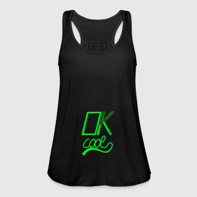 Ok cool green - Women's Tank Top by Bella