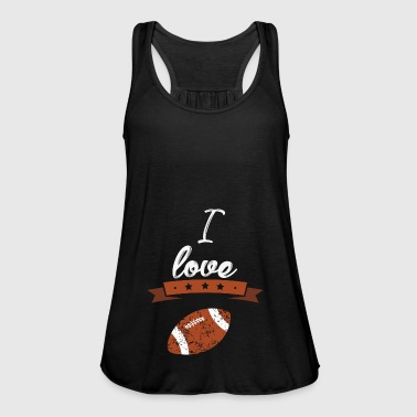 I love American football gift sports - Women's Tank Top by Bella