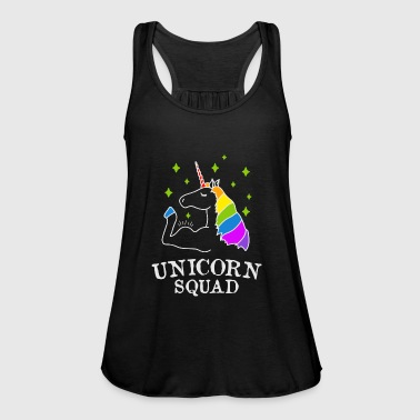 Unicorn Squad - gym fitness - Women's Tank Top by Bella