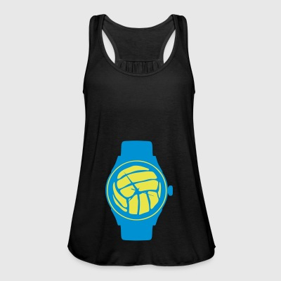 waterpolo volleyball balloon wristwatch - Women's Tank Top by Bella