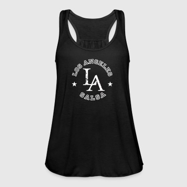 LA Salsa - Los Angeles Style - Dance Shirt - Singlet for kvinner fra Bella