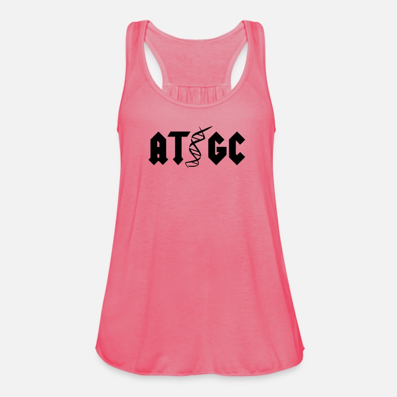 Science Tank Tops - AT GC - Women's Flowy Tank Top neon pink